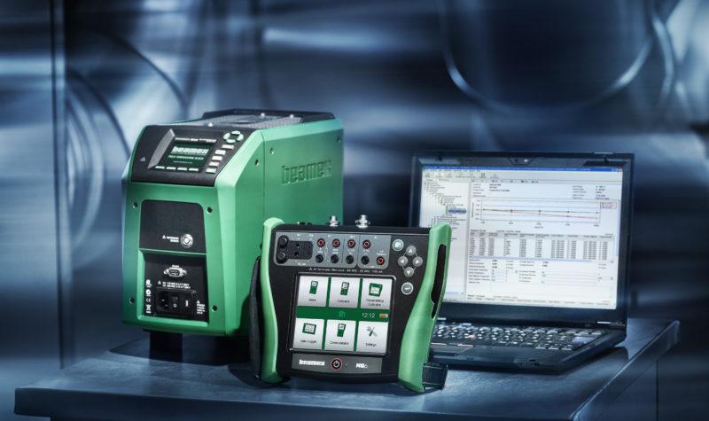 Beamex MC6 calibrator, FB temperature block and CMX calibration software