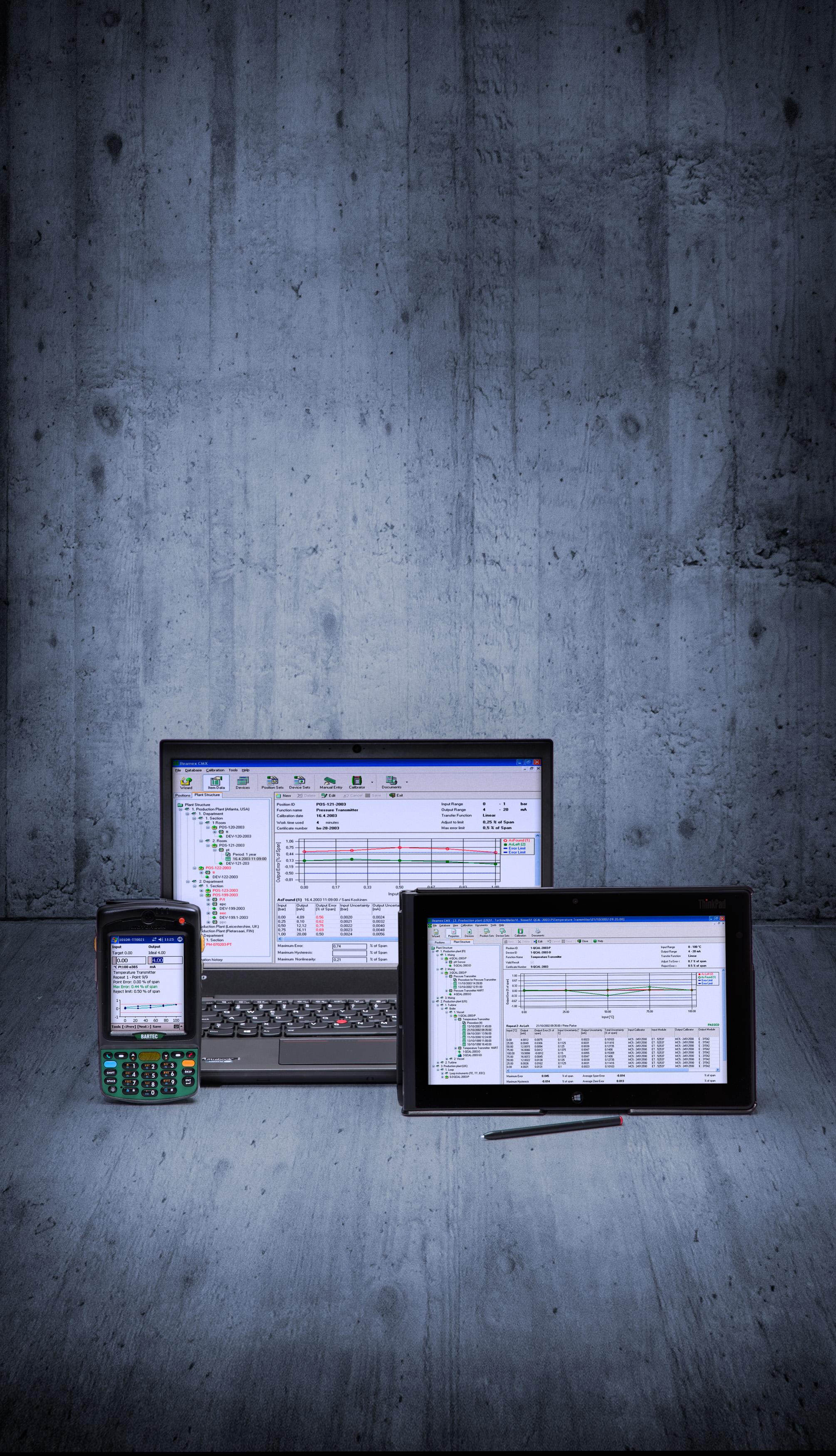 Beamex CMX calibration software