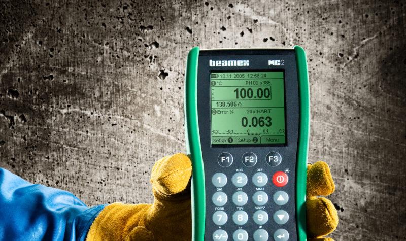 Beamex MC2 calibrator