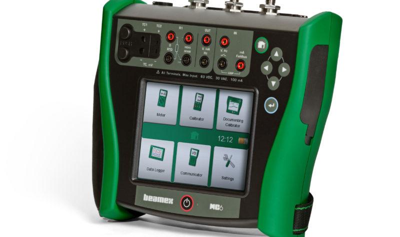 Beamex MC6 field process calibrator
