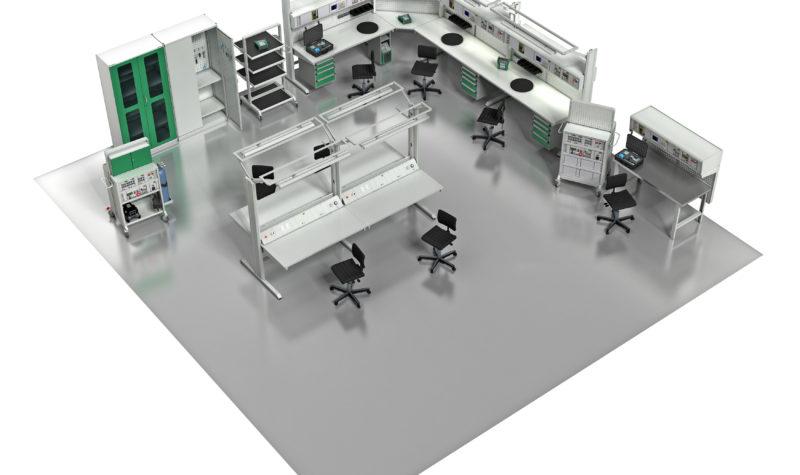 Beamex MCS200 temperature calibration bench