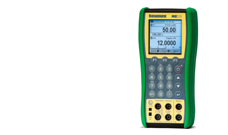 Beamex MC2-IS intrinsically safe Ex process calibrator