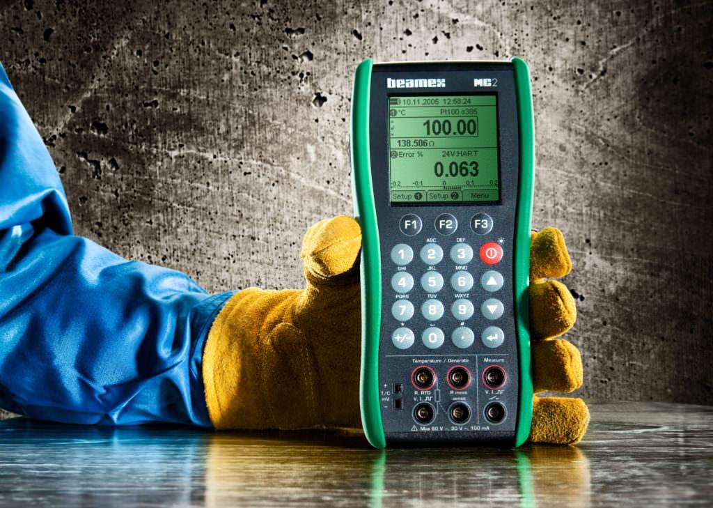 Mc2 Practical Hand Held Process Calibrator Beamex
