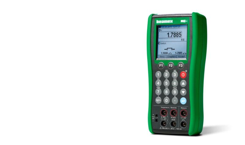 Beamex MC4 documenting process calibrator