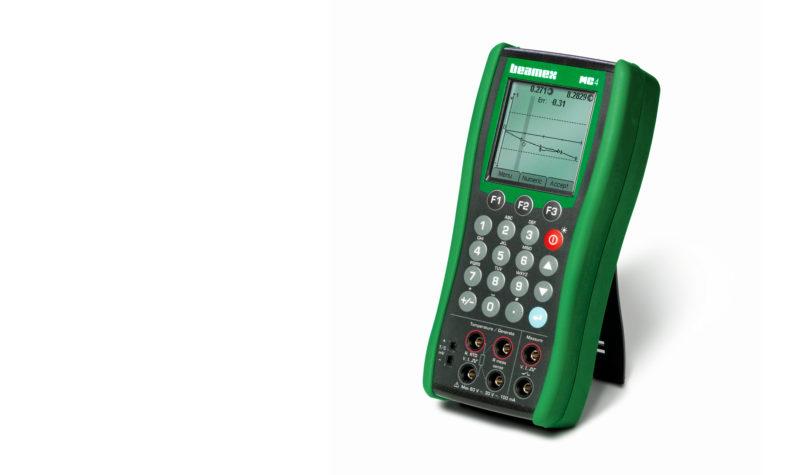 Temperature calibrator - Beamex MC4 documenting process calibrator