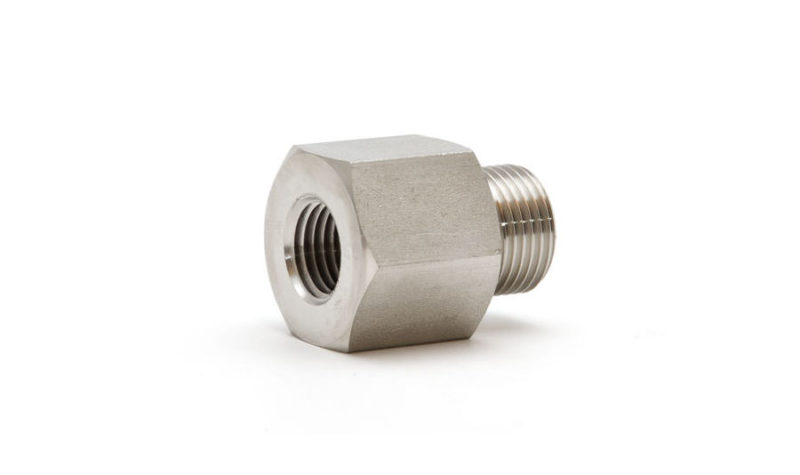 """Hex nipple 3/8"""" BSP - 1/4"""" NPT - Beamex spare parts and accessories"""