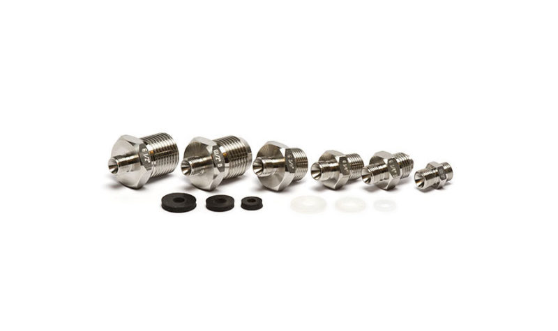 Low pressure connector set G male