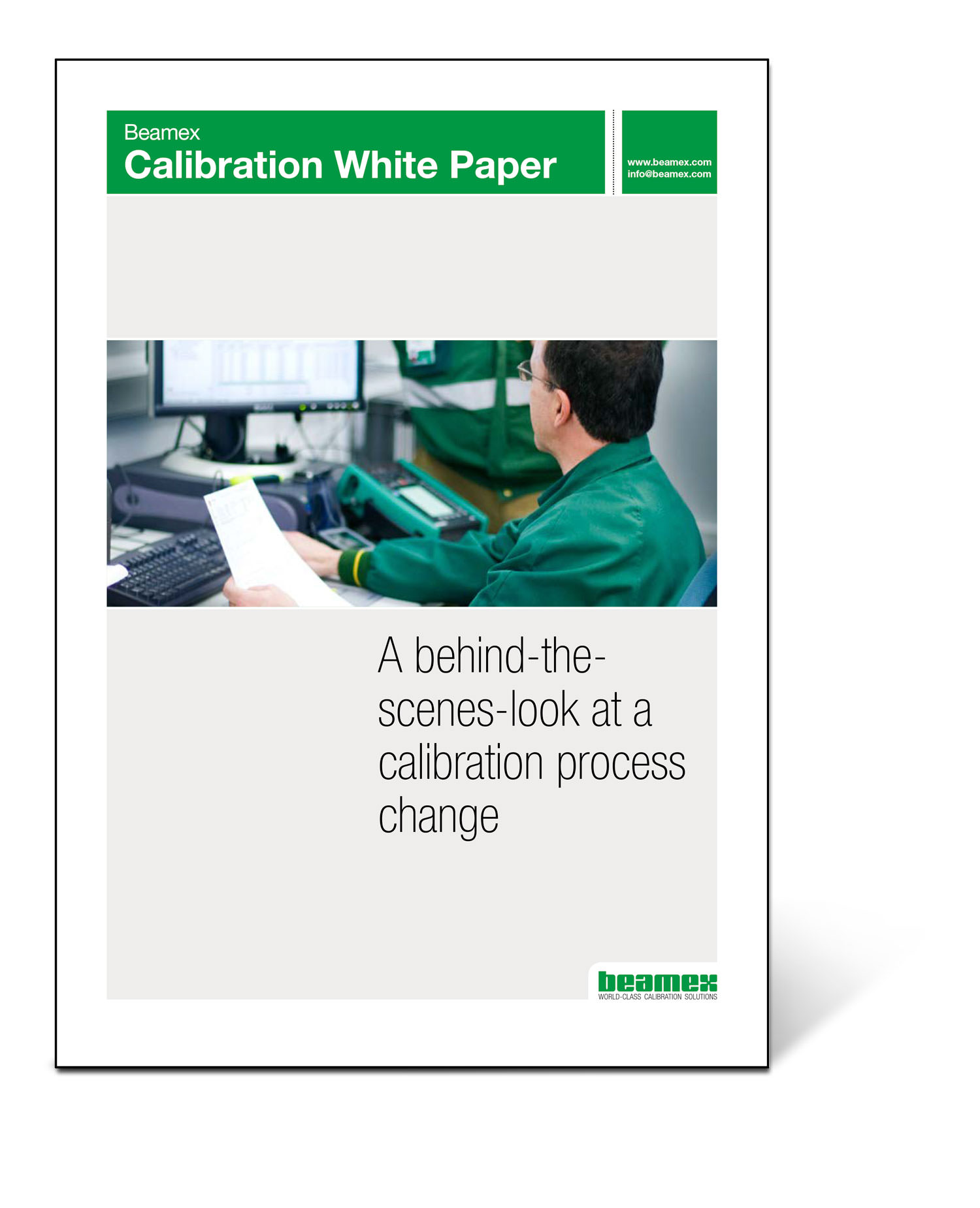 A behind the scenes look at a calibration process change, Beamex white paper