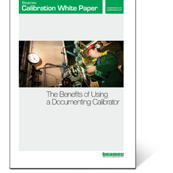 The benefits of using a documenting calibrator, Beamex white paper
