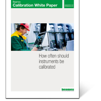 How often should instruments be calibrated, Beamex white paper