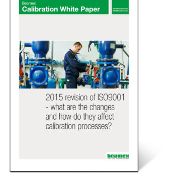 ISO9001:2015 - what are the changes and how do they affect your calibration processes? Beamex white paper.