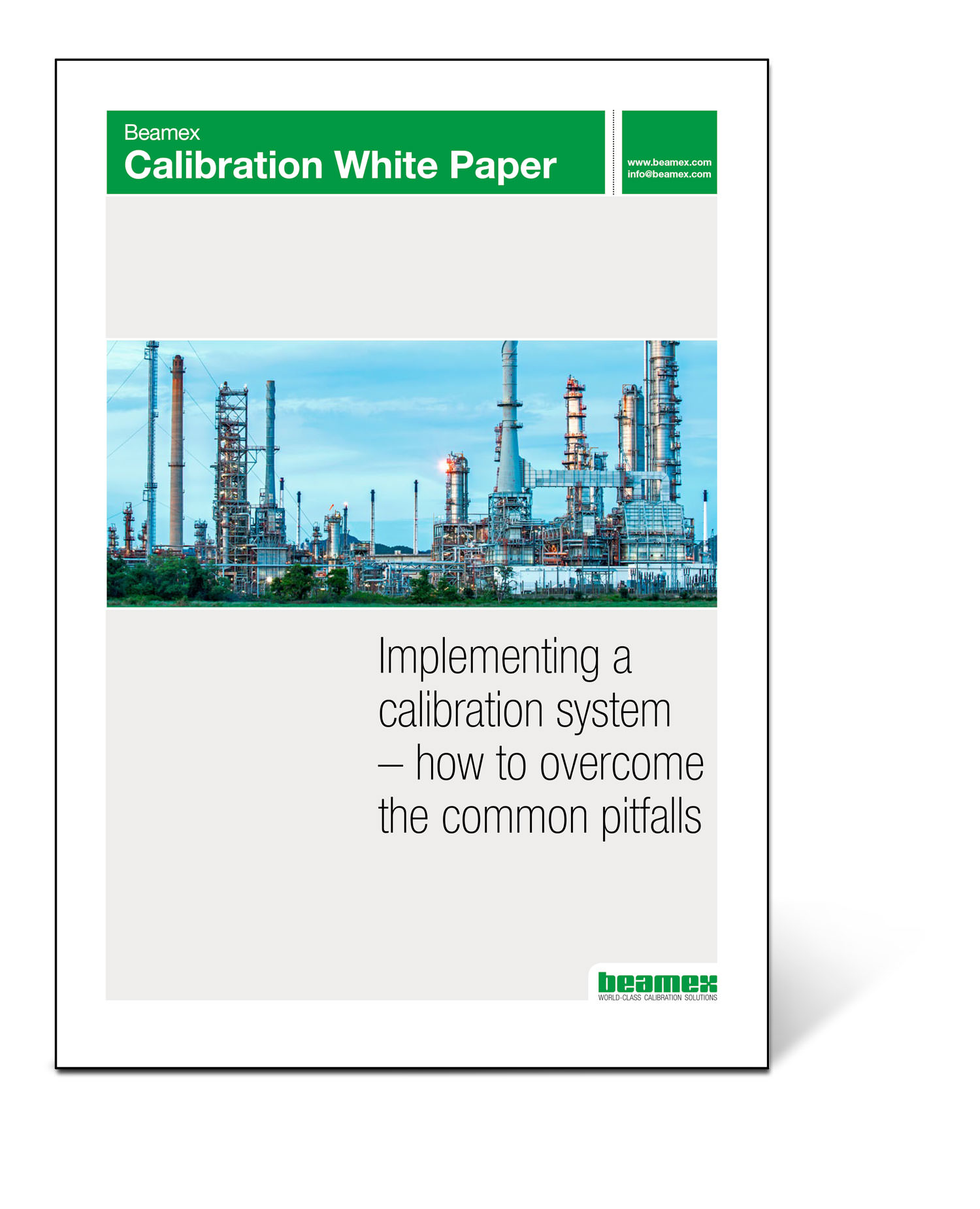 Implementing a calibration system, Beamex white paper