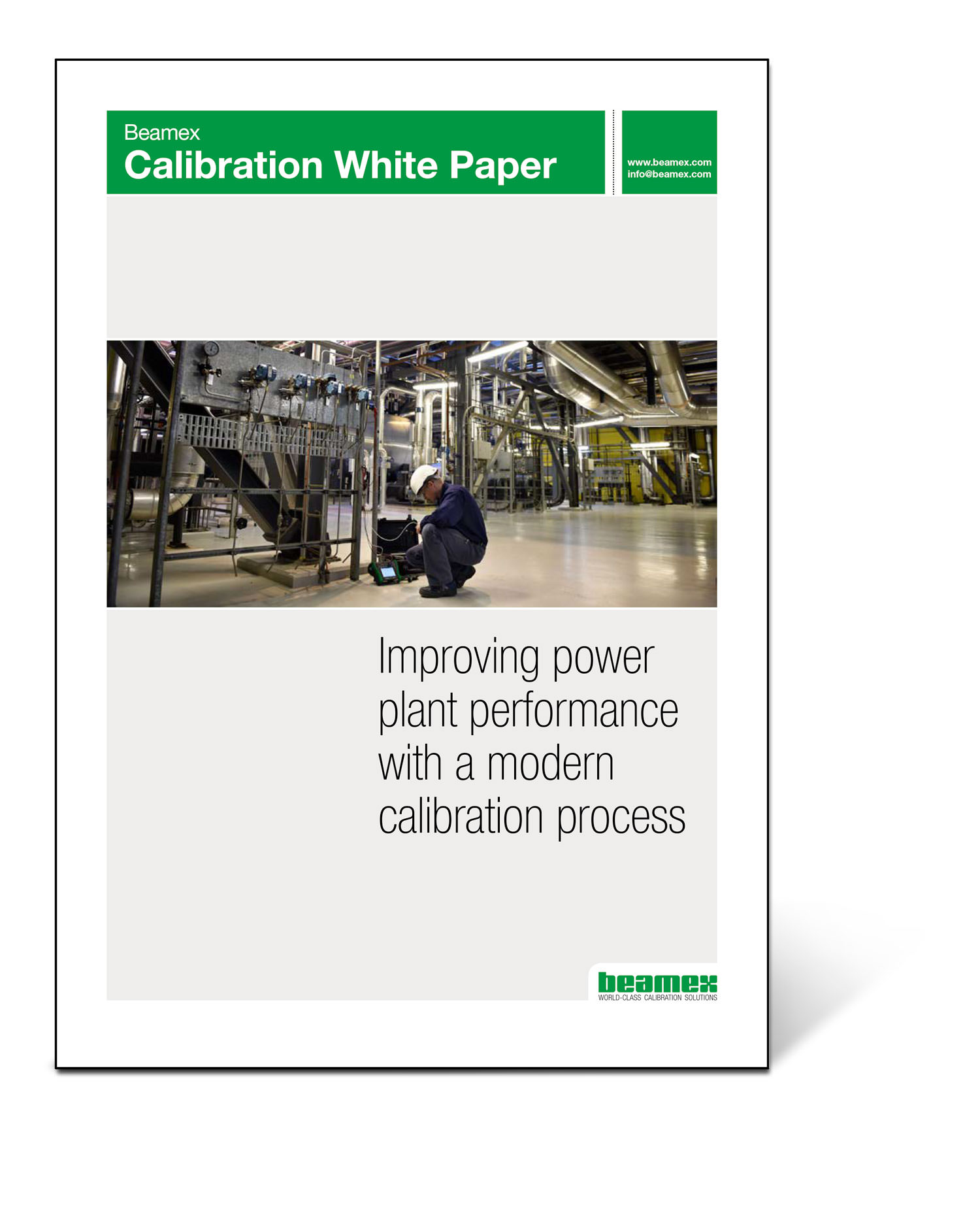 Improving power plant performance with a modern calibration process, Beamex white paper