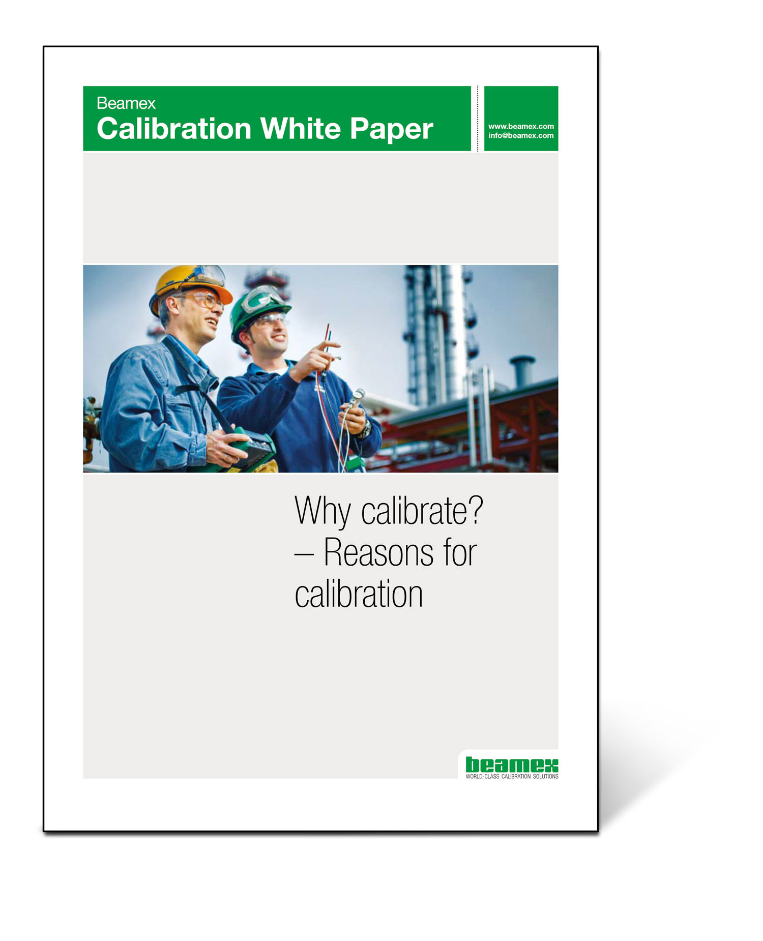 Why calibrate? Beamex white paper