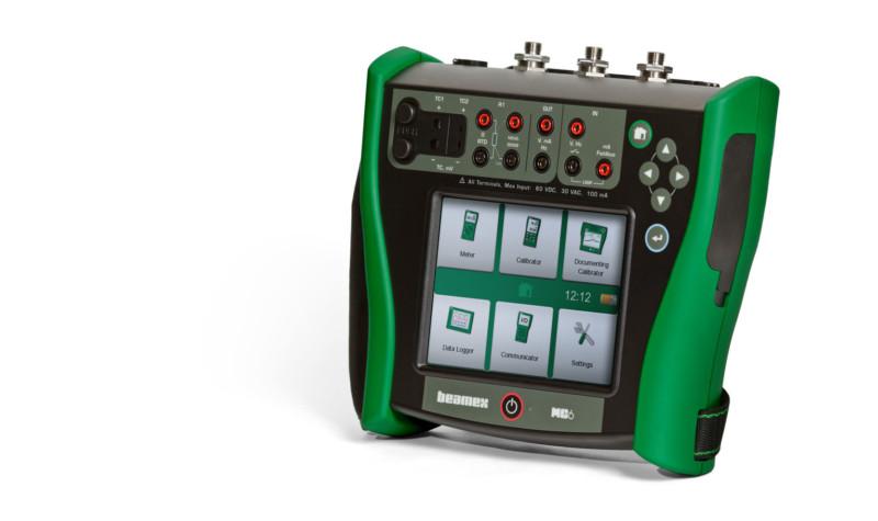 Beamex MC6 as a pressure calibrator