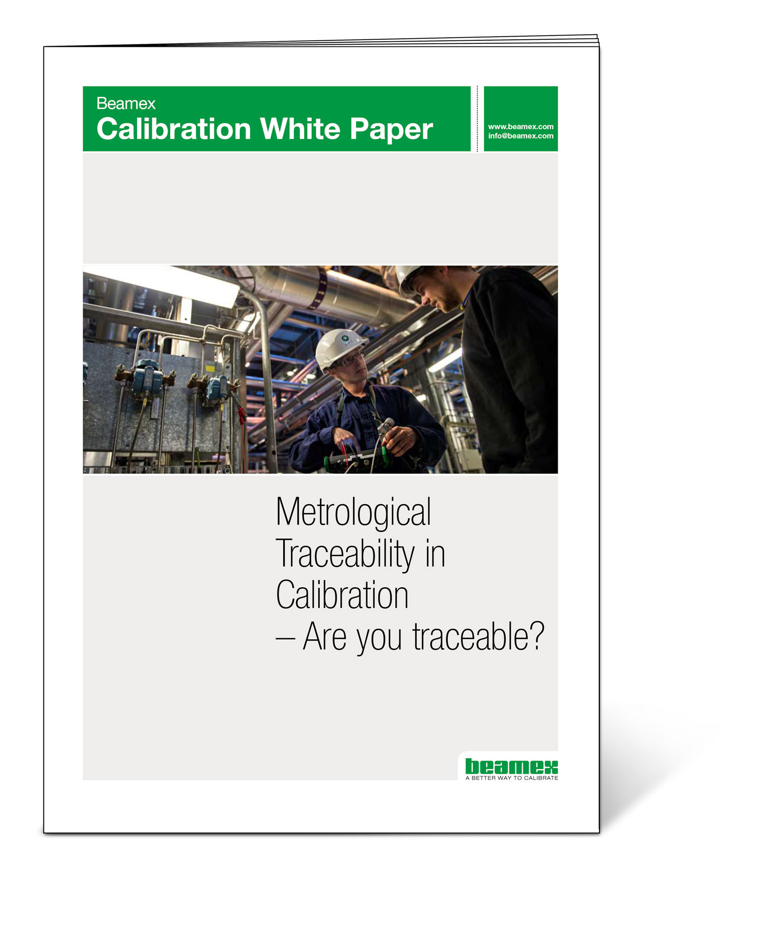 Metrological traceability in calibration - Beamex white paper