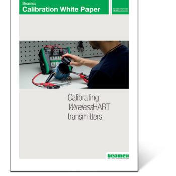 Calibrating wireless HART transmitters - Beamex white paper