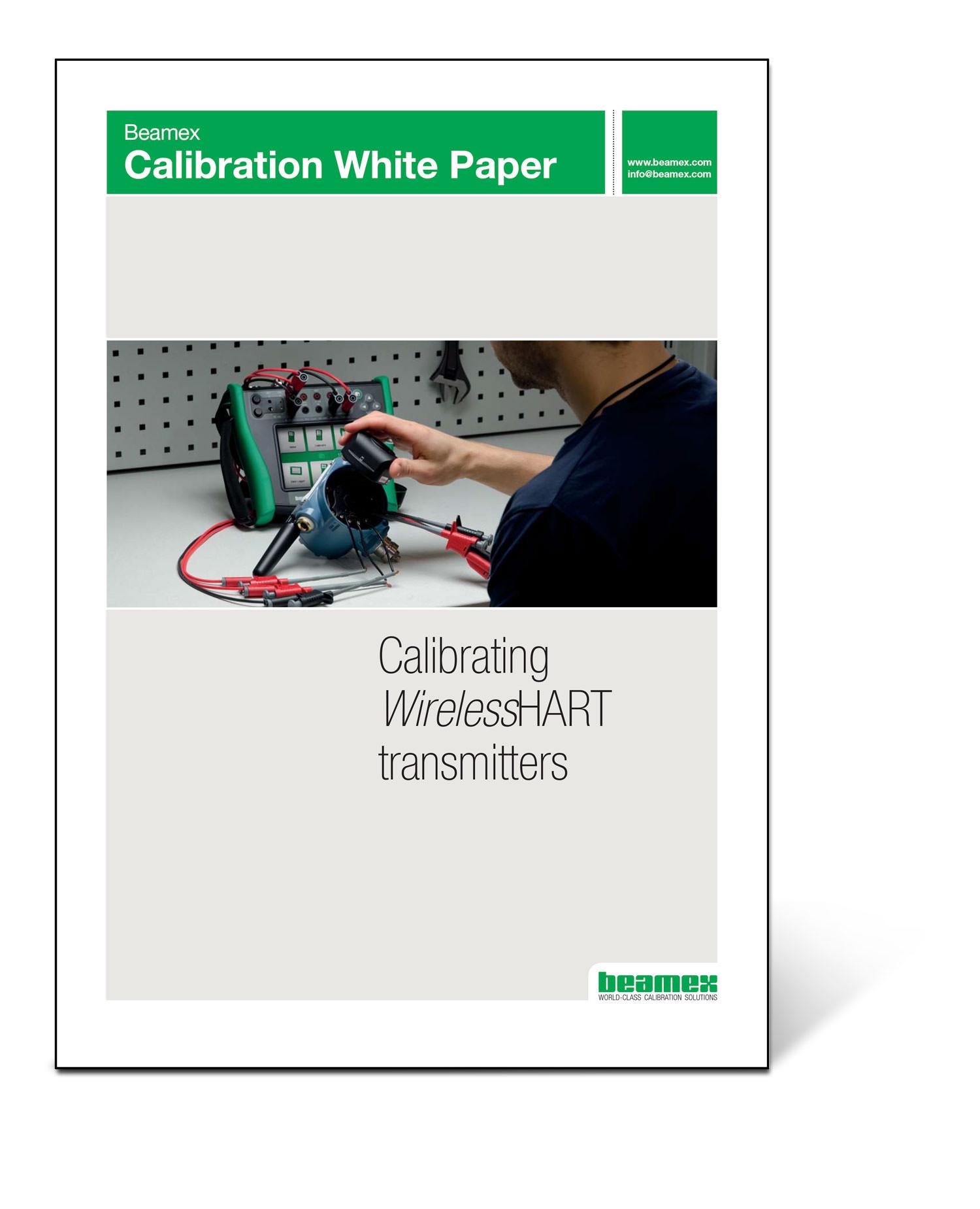 Calibrating wireless HART transmitters - Beamex white paper