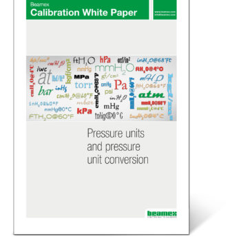 Pressure units and pressure unit conversion - Beamex white paper