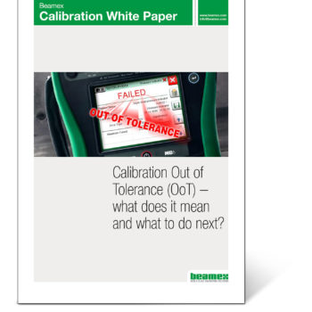 Calibration out of tolerance - Beamex white paper