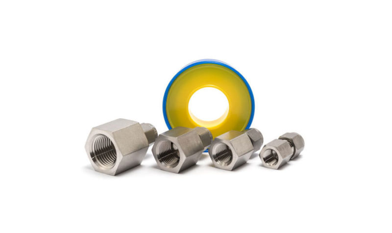 Swagelok adapter set NPT female - Beamex spare parts and accessories - 8003510