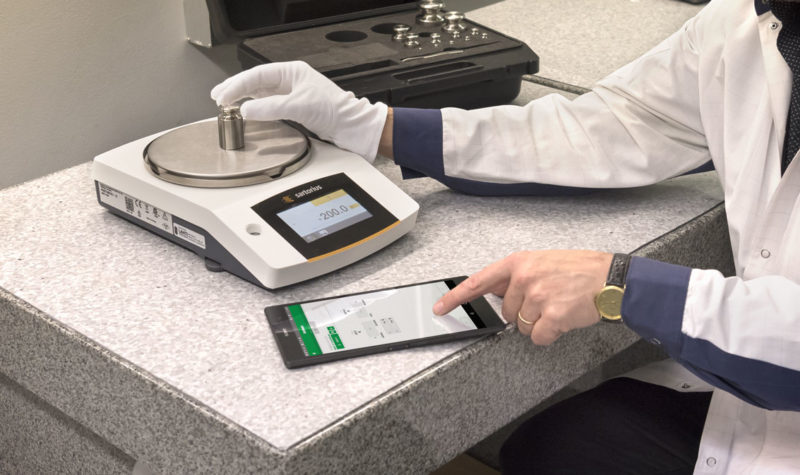 Weighing scale instrument calibration - Beamex CMX calibration software