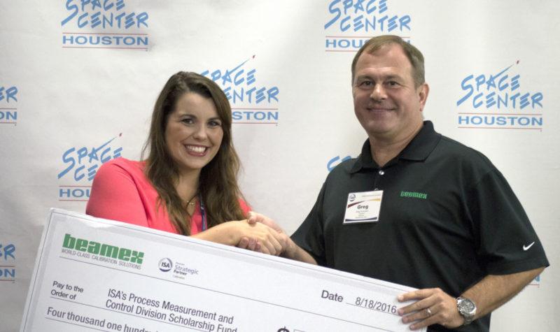 Beamex donates to ISA scholarship fund