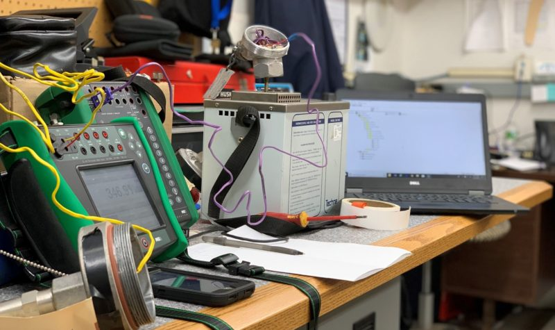 Beamex MC6 with Emerson's AMS Device Manager Calibration Snap-On Assistant