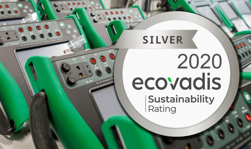 Beamex EcoVadis sustainability rating