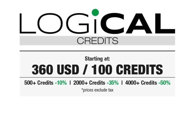 Beamex Logical credits pricing